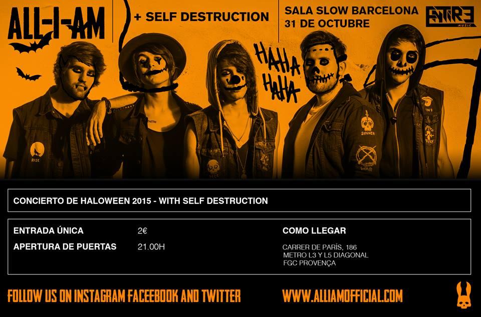 All I Am + Self Destruction